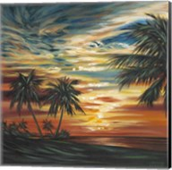 Stunning Tropical Sunset I Fine-Art Print