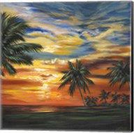 Stunning Tropical Sunset II Fine-Art Print