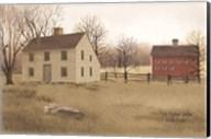 New England Saltbox Fine-Art Print