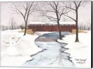 Cold Crossing Fine-Art Print