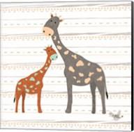 Zoo Animals Giraffes Fine-Art Print