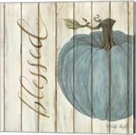 Blessed Blue Pumpkin Fine-Art Print