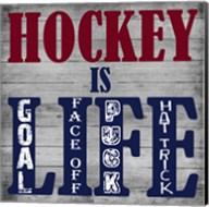 Hockey Life Fine-Art Print