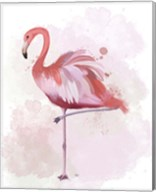 Fluffy Flamingo 4 Fine-Art Print