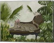 Leopard Chaise Longue Fine-Art Print