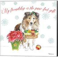 Holiday Paws III Fine-Art Print