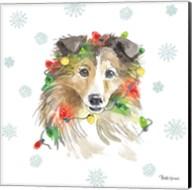 Holiday Paws IX Fine-Art Print