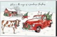Holiday on the Farm II Believe Fine-Art Print