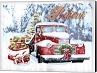 Red Truck Christmas Fine-Art Print