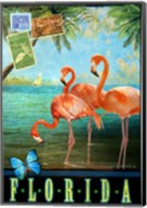 Florida Flamingoes Fine-Art Print