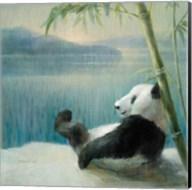 Resting in Bamboo Fine-Art Print