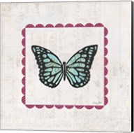Butterfly Stamp Bright Fine-Art Print