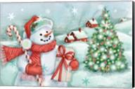 Classic Snowmen I Fine-Art Print