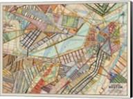 Modern Map of Boston Fine-Art Print
