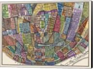 Modern Map of St. Louis Fine-Art Print