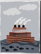 Oceans Ahoy I Fine-Art Print