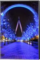 The London Eye at Christmas Fine-Art Print
