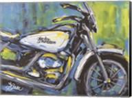 White Harley Fine-Art Print