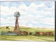 Pasture Cows Fine-Art Print