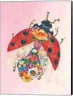 Botanical Ladybug Fine-Art Print