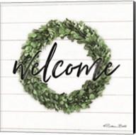 Welcome Wreath Fine-Art Print