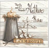 Farm House - Gather Here Fine-Art Print