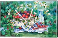 Strawberry Picnic Fine-Art Print