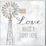 Windmill Love Sentiment Fine-Art Print
