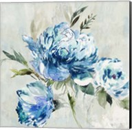 Blue Peony I Fine-Art Print