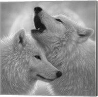 Wolves - Love Song - B&W Fine-Art Print