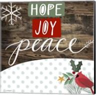 Hope Joy Peace Fine-Art Print
