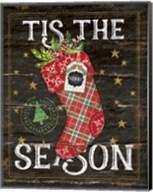 Tis the Season Stocking Fine-Art Print