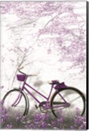 Ultra Violet Bicycle Fine-Art Print