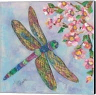 Stained Glass Dragonfly Fine-Art Print