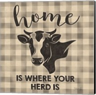Home is Where Your Herd Is Fine-Art Print