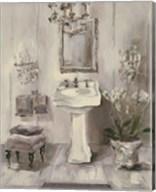 French Bath III Gray Fine-Art Print