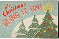 Retro Christmas IV Fine-Art Print