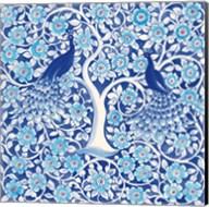 Peacock Garden VII Fine-Art Print