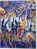 New Orleans Club Jazz Fine-Art Print