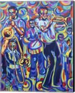 New Orleans Street Jazz Music Fine-Art Print