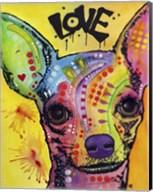 Chihuahua Drip Love Fine-Art Print