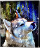 Husky Enjoying the Snow Fine-Art Print