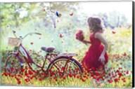 Flowers Girl Fine-Art Print