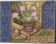 California Pots Geranium Fine-Art Print