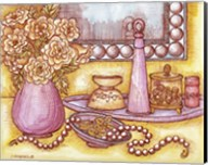 Shelf With Pearls Fine-Art Print