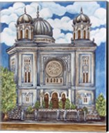 Synagogue Nuremburg Exterior Fine-Art Print