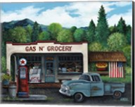 Gas and Grocery Fine-Art Print