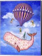 Flying Whale Circus Fine-Art Print