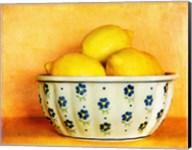 StillLife-Bowl of Lemons Fine-Art Print