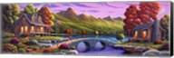 Lakeside Paradise Fine-Art Print